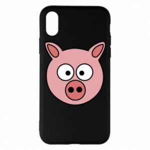 Phone case for iPhone X/Xs Pig