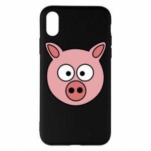 iPhone X/Xs Case Pig
