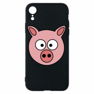 iPhone XR Case Pig