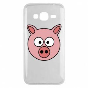 Phone case for Samsung J3 2016 Pig