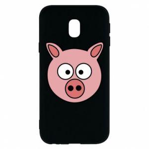Etui na Samsung J3 2017 Świnia