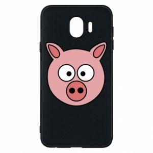 Samsung J4 Case Pig