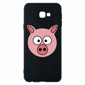 Etui na Samsung J4 Plus 2018 Świnia