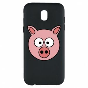 Etui na Samsung J5 2017 Świnia