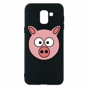 Etui na Samsung J6 Świnia