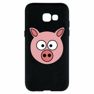 Etui na Samsung A5 2017 Świnia