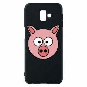 Phone case for Samsung J6 Plus 2018 Pig