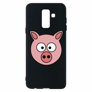 Etui na Samsung A6+ 2018 Świnia