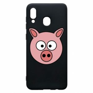Phone case for Samsung A20 Pig