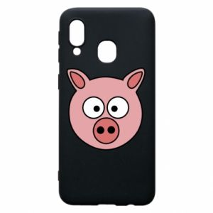 Phone case for Samsung A40 Pig
