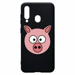 Phone case for Samsung A60 Pig