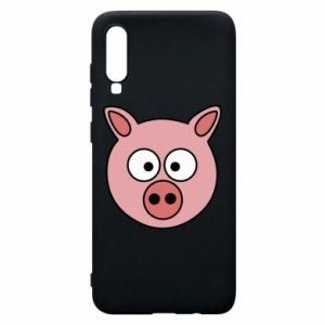 Phone case for Samsung A70 Pig