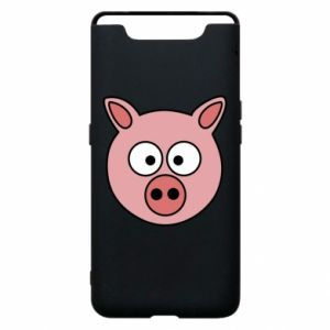 Phone case for Samsung A80 Pig