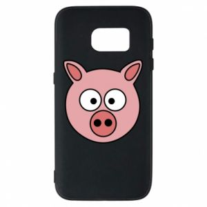 Phone case for Samsung S7 Pig