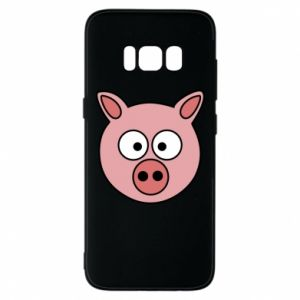 Etui na Samsung S8 Świnia
