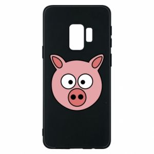 Phone case for Samsung S9 Pig