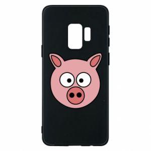 Etui na Samsung S9 Świnia