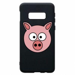 Samsung S10e Case Pig