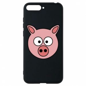 Phone case for Huawei Y6 2018 Pig