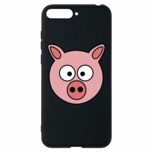 Huawei Y6 2018 Case Pig