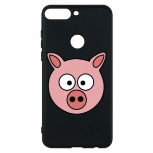Phone case for Huawei Y7 Prime 2018 Pig
