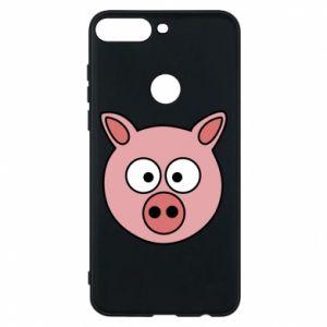 Huawei Y7 Prime 2018 Case Pig