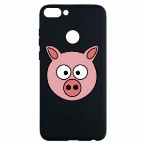Etui na Huawei P Smart Świnia
