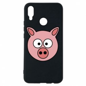 Phone case for Huawei P Smart Plus Pig