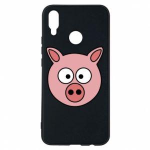 Huawei P Smart Plus Case Pig