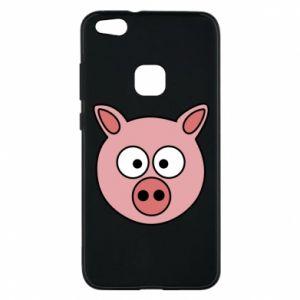Huawei P10 Lite Case Pig
