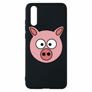Huawei P20 Case Pig