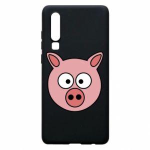 Huawei P30 Case Pig