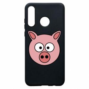 Etui na Huawei P30 Lite Świnia