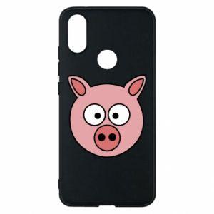 Phone case for Xiaomi Mi A2 Pig
