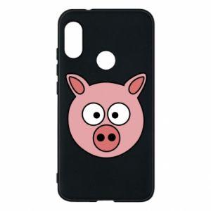 Mi A2 Lite Case Pig