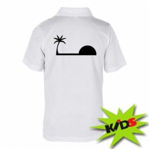 Dziecięca koszulka polo Świt