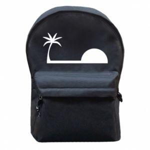 Plecak z przednią kieszenią Świt