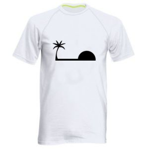 Męska koszulka sportowa Świt