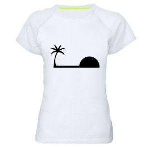 Damska koszulka sportowa Świt