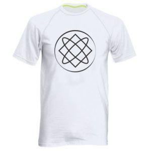 Męska koszulka sportowa Symbol miłości, piękna, macierzyństwa