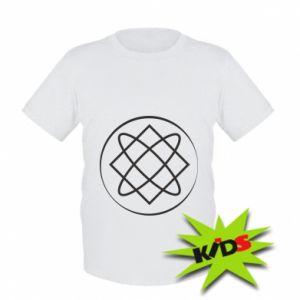 Dziecięcy T-shirt Symbol miłości, piękna, macierzyństwa
