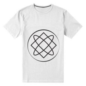 Męska premium koszulka Symbol miłości, piękna, macierzyństwa