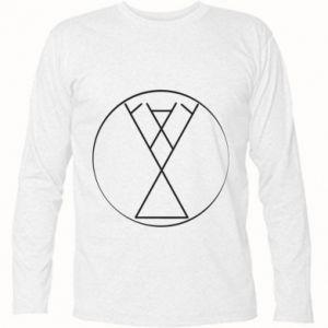 Koszulka z długim rękawem Symbol radości, miłości, życia