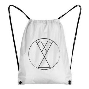 Plecak-worek Symbol radości, miłości, życia
