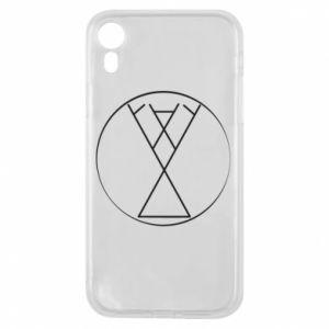 Etui na iPhone XR Symbol radości, miłości, życia