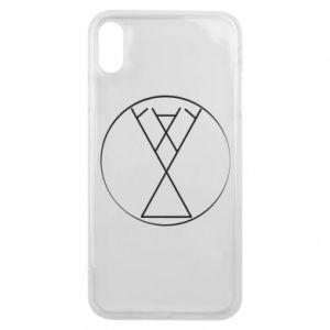 Etui na iPhone Xs Max Symbol radości, miłości, życia