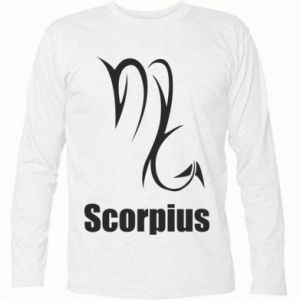 Koszulka z długim rękawem Symbol Skorpiona