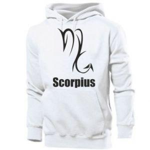 Men's hoodie Scorpio Symbol