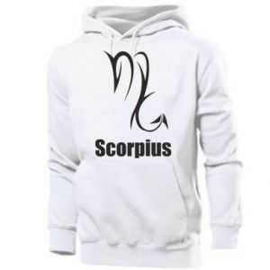 Męska bluza z kapturem Symbol Skorpiona