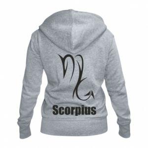 Damska bluza na zamek Symbol Skorpiona